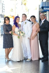 mom, ari, greg, kassi, abba wedding